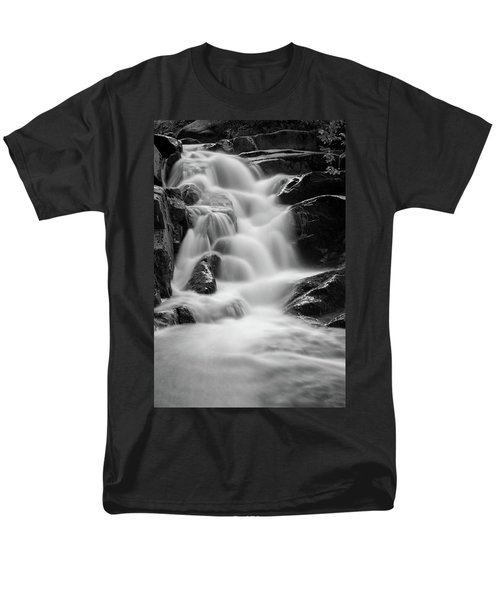 water stair in Ilsetal, Harz Men's T-Shirt  (Regular Fit) by Andreas Levi