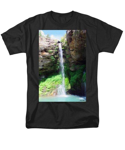 Waterfall 2 Men's T-Shirt  (Regular Fit) by Jeff Kolker