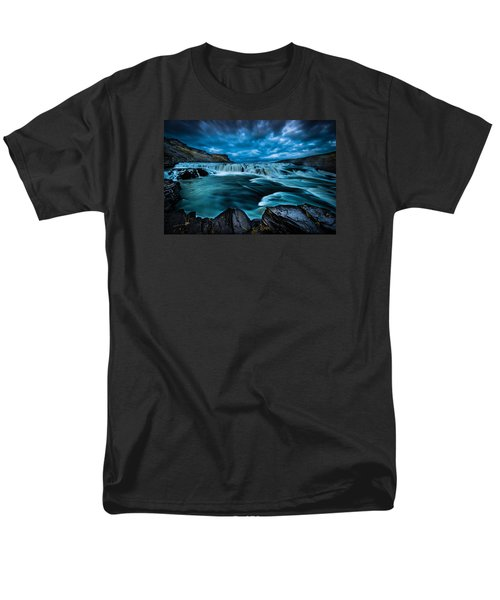 Waterfall Drama Men's T-Shirt  (Regular Fit) by Chris McKenna