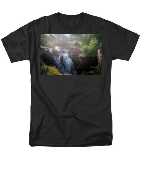 Waterfall Men's T-Shirt  (Regular Fit) by Sergey Simanovsky