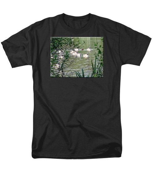 Waterfowl At The Park Men's T-Shirt  (Regular Fit) by Mikki Cucuzzo