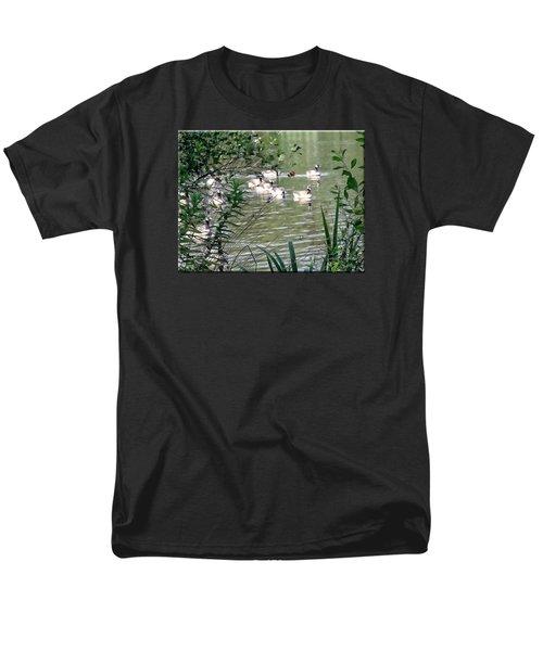 Waterfowl At The Park Men's T-Shirt  (Regular Fit)
