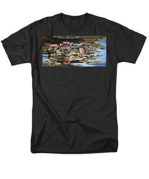 Waterlilies Tower Grove Park Men's T-Shirt  (Regular Fit)