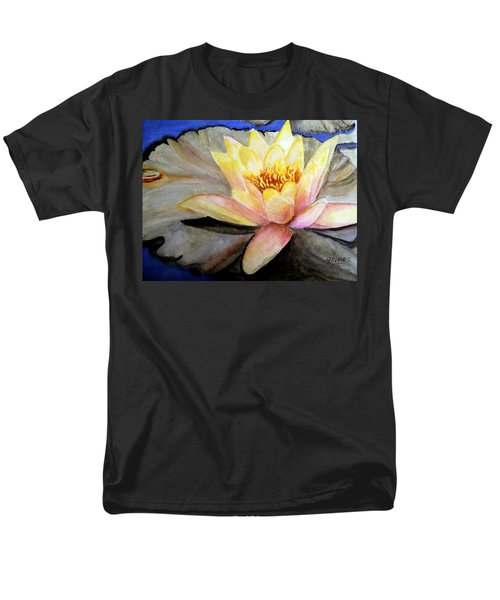 Men's T-Shirt  (Regular Fit) featuring the painting Waterlily  by Carol Grimes