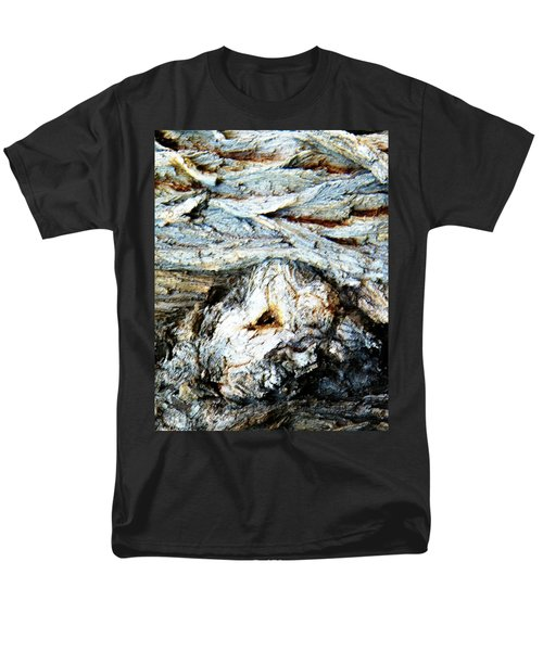 Men's T-Shirt  (Regular Fit) featuring the photograph Waves Are My Blanket by Lenore Senior