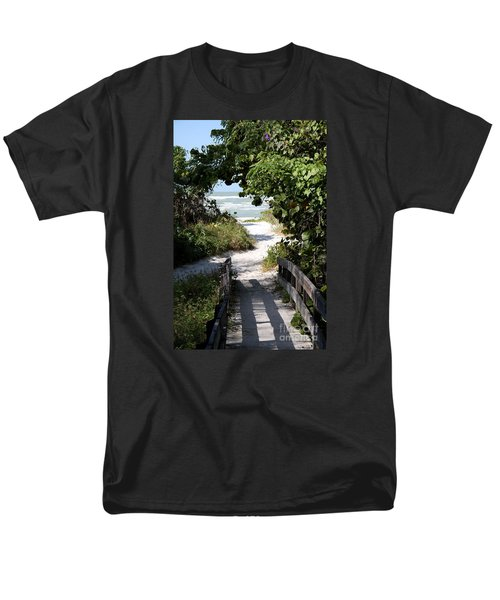 Way To The Beach Men's T-Shirt  (Regular Fit) by Christiane Schulze Art And Photography