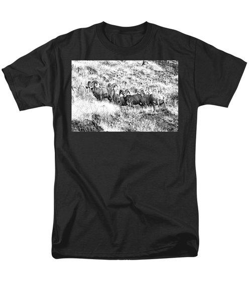 We Have A Visitor Men's T-Shirt  (Regular Fit) by Steve Warnstaff