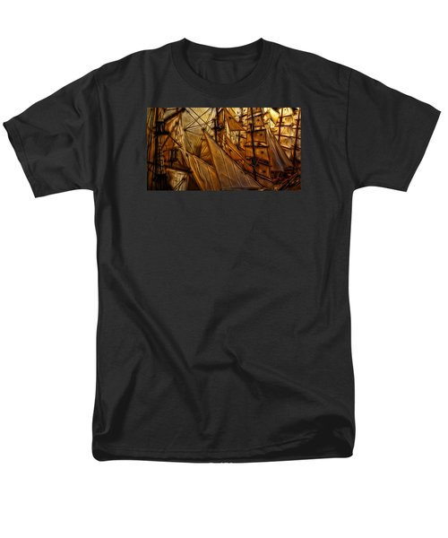 Men's T-Shirt  (Regular Fit) featuring the photograph Wee Sails by Cameron Wood