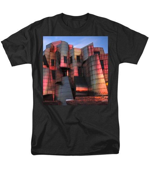 Weisman Art Museum At Sunset Men's T-Shirt  (Regular Fit) by Craig Hinton