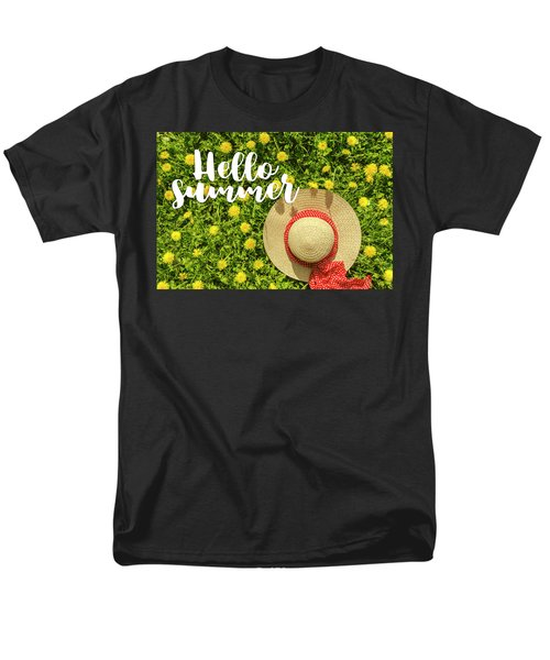 Men's T-Shirt  (Regular Fit) featuring the photograph Welcome Summer by Teri Virbickis
