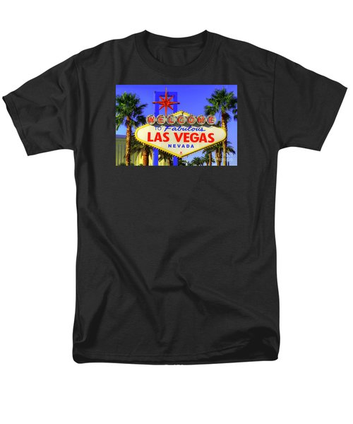 Welcome To Las Vegas Men's T-Shirt  (Regular Fit) by Anthony Sacco