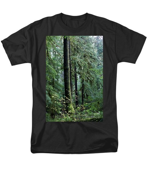 Welcome To The Woods Men's T-Shirt  (Regular Fit) by Jane Eleanor Nicholas