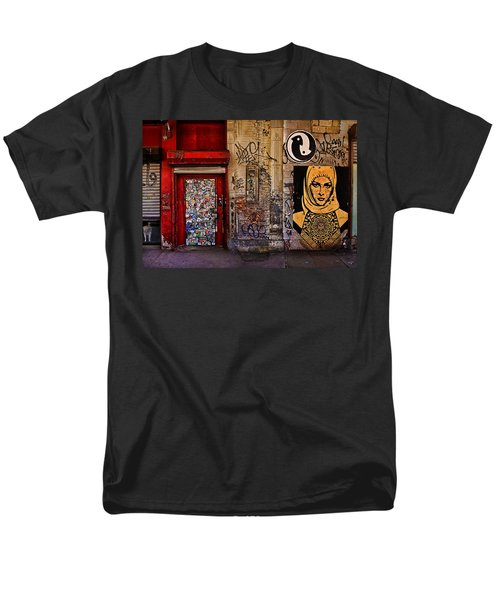 West Village Wall Nyc Men's T-Shirt  (Regular Fit) by Chris Lord