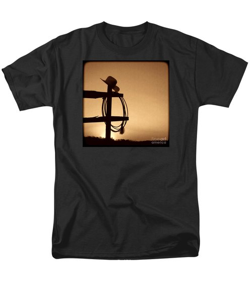 Western Sunset Men's T-Shirt  (Regular Fit) by American West Legend By Olivier Le Queinec