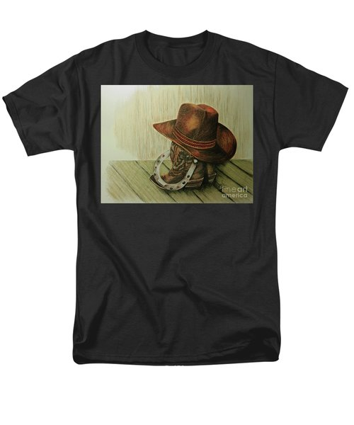 Western Wares Men's T-Shirt  (Regular Fit) by Terri Mills
