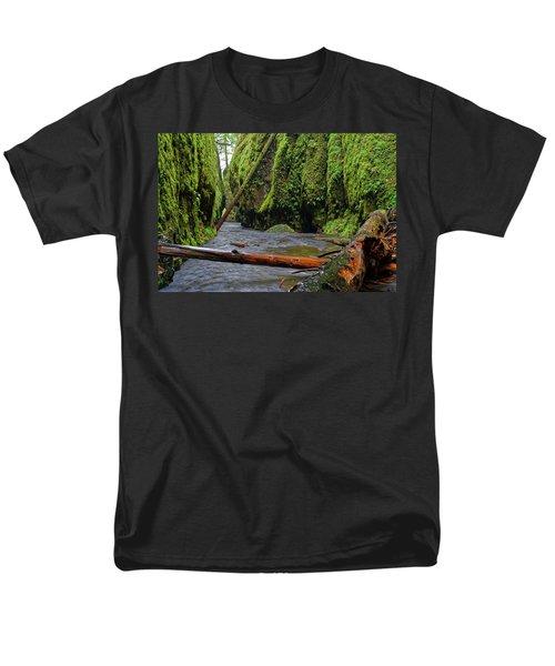 Wet Trail Men's T-Shirt  (Regular Fit) by Jonathan Davison