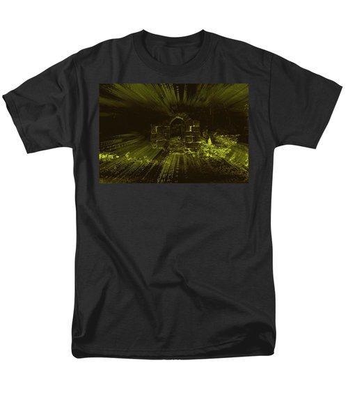 Men's T-Shirt  (Regular Fit) featuring the photograph What Lies Beyond by Keith Elliott