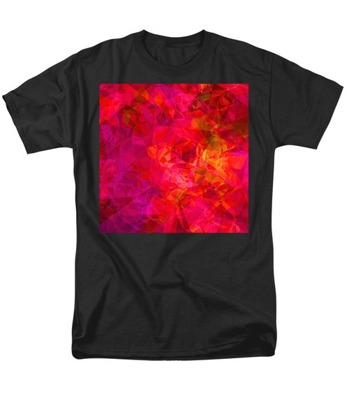 Men's T-Shirt  (Regular Fit) featuring the digital art What The Heart Wants by Wendy J St Christopher