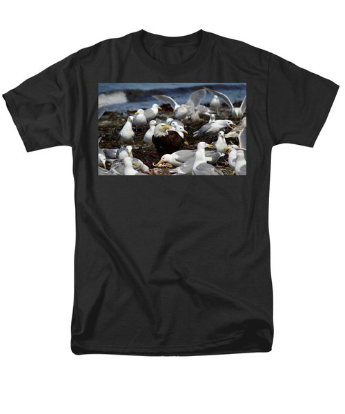 What The Tide Brings In The Birds Feed On Men's T-Shirt  (Regular Fit) by Dacia Doroff