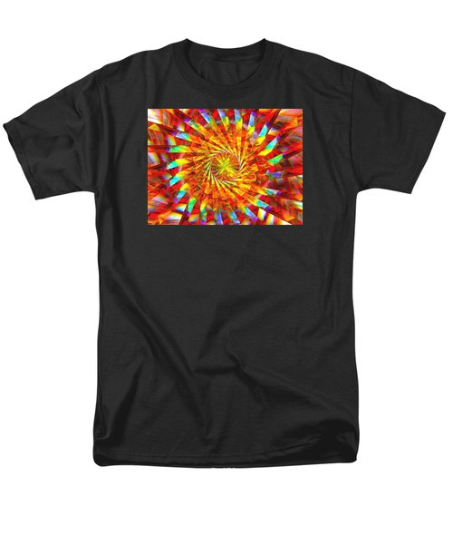 Wheel Of Light Men's T-Shirt  (Regular Fit) by Andreas Thust