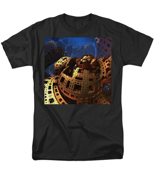 Men's T-Shirt  (Regular Fit) featuring the digital art When Black Friday Comes by Lyle Hatch