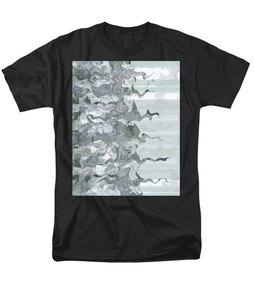 Men's T-Shirt  (Regular Fit) featuring the digital art Whispers In The Fog by Wendy J St Christopher