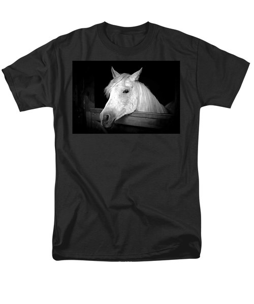 Men's T-Shirt  (Regular Fit) featuring the photograph White Beauty by Marion Johnson