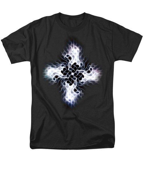 White Cross Men's T-Shirt  (Regular Fit) by Anastasiya Malakhova