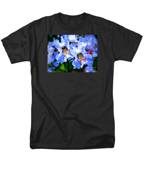 White Flowers Men's T-Shirt  (Regular Fit) by Craig Walters