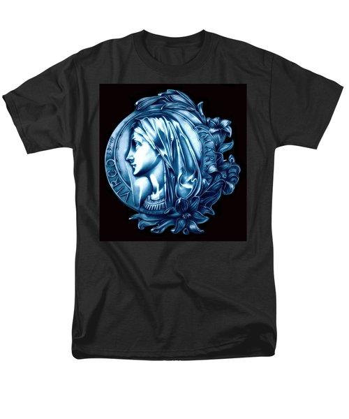 White Lilly Of The Virgin Mary Men's T-Shirt  (Regular Fit) by Fred Larucci