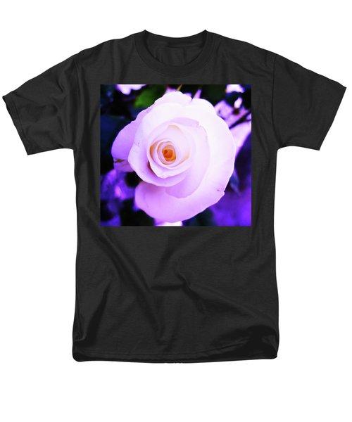 White Rose Men's T-Shirt  (Regular Fit) by Mary Ellen Frazee