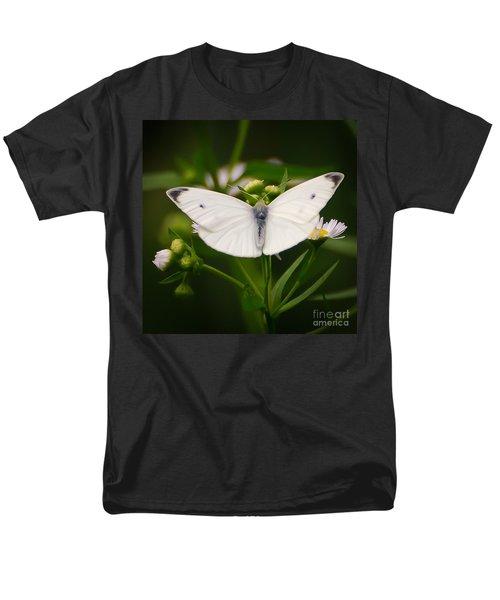 White Wings Of Wonder Men's T-Shirt  (Regular Fit) by Kerri Farley