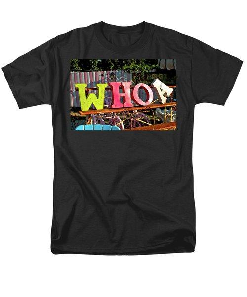 Whoa Men's T-Shirt  (Regular Fit) by Toni Hopper
