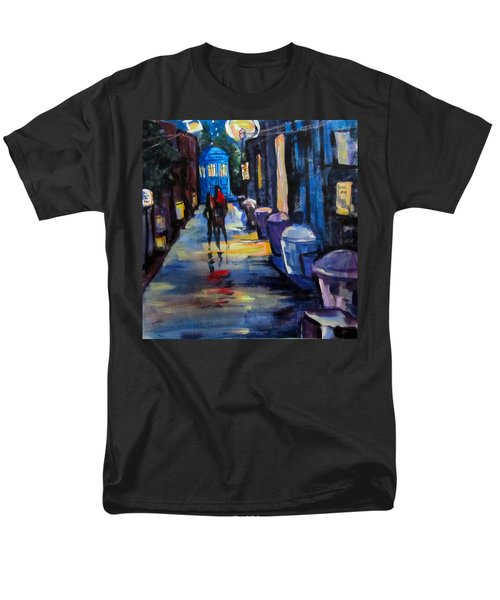 Who's Heading Back Men's T-Shirt  (Regular Fit) by Barbara O'Toole