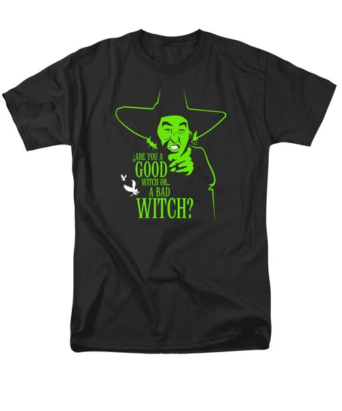 Wicked Witch Of West Men's T-Shirt  (Regular Fit) by Mos Graphix