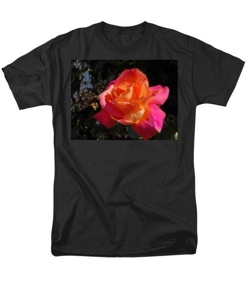 Wild Rose Men's T-Shirt  (Regular Fit) by Mark Blauhoefer