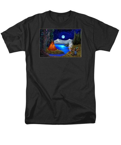Window To Heaven Men's T-Shirt  (Regular Fit) by Glenn Holbrook