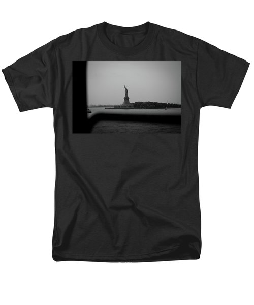 Men's T-Shirt  (Regular Fit) featuring the photograph Window To Liberty by David Sutton