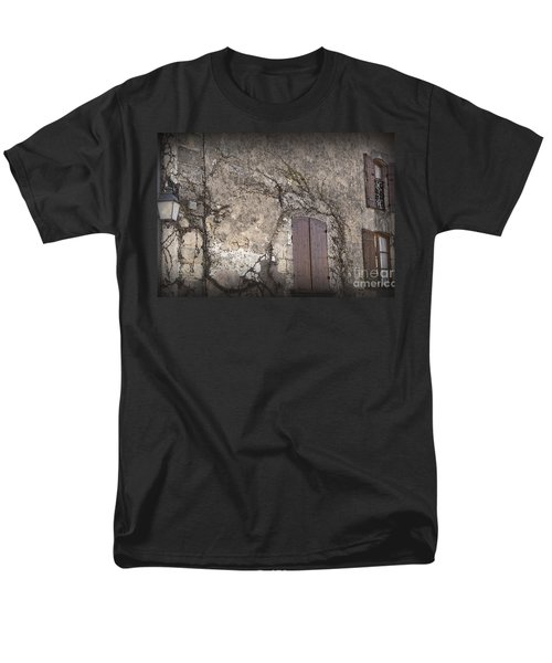 Windows Among The Vines Men's T-Shirt  (Regular Fit) by Victoria Harrington