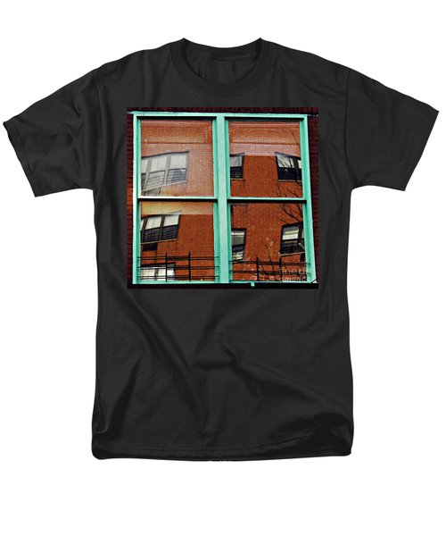 Windows In The Heights Men's T-Shirt  (Regular Fit) by Sarah Loft
