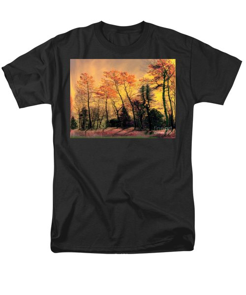 Men's T-Shirt  (Regular Fit) featuring the photograph Windy  by Elfriede Fulda