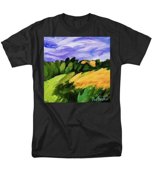 Men's T-Shirt  (Regular Fit) featuring the painting Windy by Igor Postash