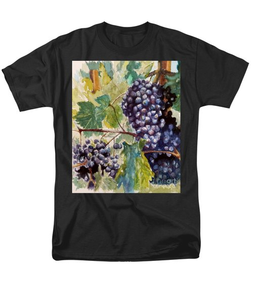 Wine Grapes Men's T-Shirt  (Regular Fit) by William Reed