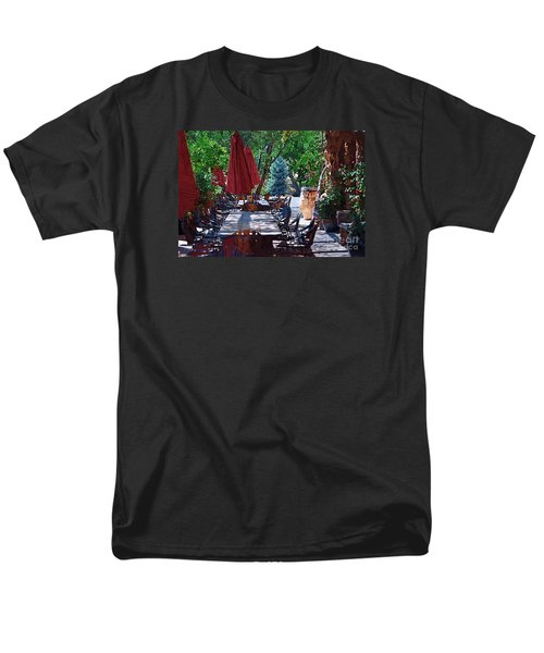 Men's T-Shirt  (Regular Fit) featuring the digital art Wine Tasting by Kirt Tisdale