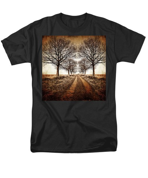 Winter Avenue Men's T-Shirt  (Regular Fit) by Meirion Matthias