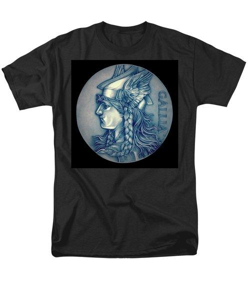 Winter Goddess Of Gaul Men's T-Shirt  (Regular Fit) by Fred Larucci
