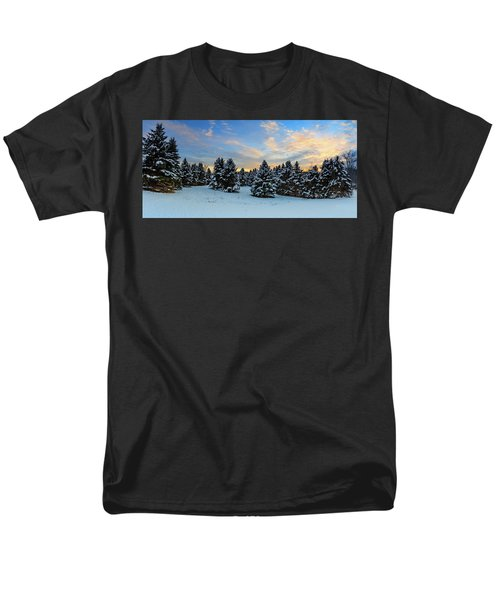 Men's T-Shirt  (Regular Fit) featuring the photograph Winter Wonderland  by Emmanuel Panagiotakis