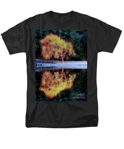 Winters' Embers Men's T-Shirt  (Regular Fit) by Kym Clarke
