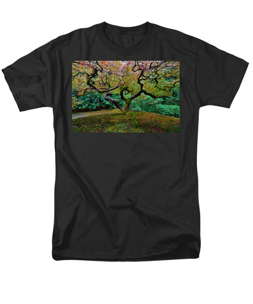 Wisdom Tree Men's T-Shirt  (Regular Fit) by Jonathan Davison