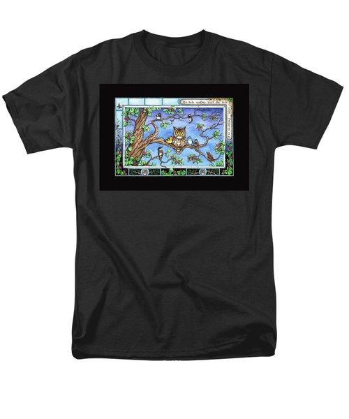 Wise Guys Men's T-Shirt  (Regular Fit) by Retta Stephenson